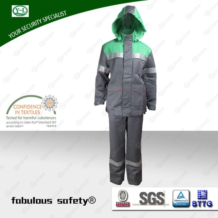 阻燃隔热防护服的热防护原理
