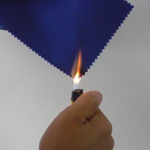 阻燃面料是不是烧不着的布?